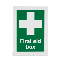 Sign 'First Aid Box'