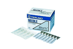 Terumo Disposable Needle 22Gx1''