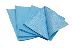 Dental Bibs Blue, 2 ply