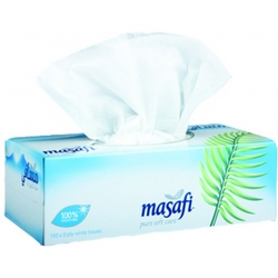 Masafi 2 ply tissue boxes