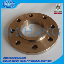 copper nickel slip on flange