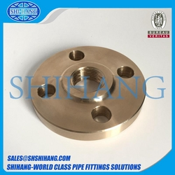 copper nickel threaded flange