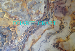 Flexible Slate stone veneer laminates Translucent Fabric