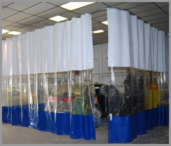 Paint Booth Curtains in UAE