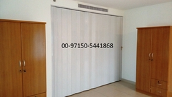 PVC FOLDING DOORS IN DUBAI/SHARJAH/AJMAN