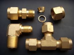 Brass Ferrule Fitting