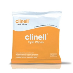 Clinell Spill Wipes, Size: 40 x 40cm