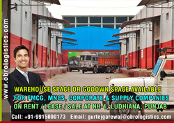 godown space for mncs on rent lease in ludhiana punjab