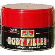 auto body filler polyester putty supplier in UAE