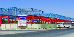 DANA steel in UAE
