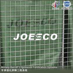 Military field JOESCO barrier
