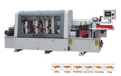 Automatic edge banding machines