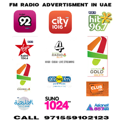 FM Radio Advertising in Dubai