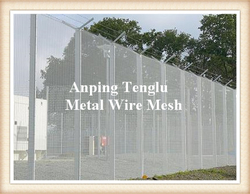 Security Fence Panels/Hot-Dipped Galvanizing Security Barrie ...