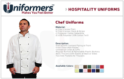 Chef Jacket Suppliers in UAE