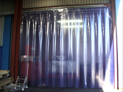 PVC Strip Curtains in Sharjah
