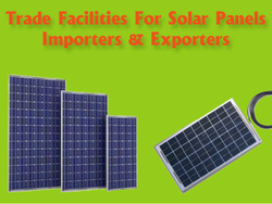 Avail Trade Finance Facilities for Solar Panel Importers and ...
