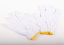 COTTON KNITTED GLOVES SUPPLIER UAE