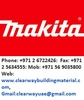 Makita Dealer In Abudhabi, Musaffah
