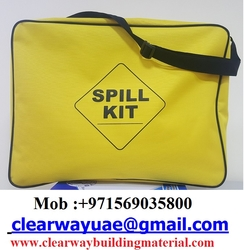 OIL SPILL KITS BAG IN MUSAFFAH , ABUDHABI , UAE