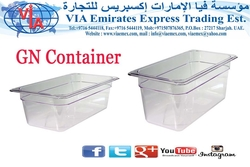 CLEAR GN CONTAINER