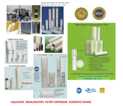 AQUALINK Cartridge elements, filter range all sizes and all  ...