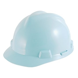 MSA V-Gard Hard Hat - Egg Blue