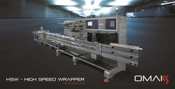 Horizontal flowpack machine