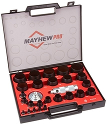 Mayhew Pro 66002 1/8-Inch to 2-Inch Imperial SAE Hollow Punc ...
