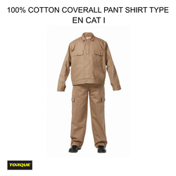 Cotton Pant Shirt Coverall in Dubai