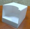 Square Paper Cube Holder in PS Plastic