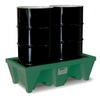 2-Drum ECO Poly-Spillpallet