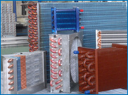 AIR CONDITIONING PARTS-CONDENSER COIL MFRS from SAFARIO COOLING FACTORY LLC