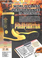FIRE SAFETY BOOTS from GULF SAFETY EQUIPS TRADING LLC
