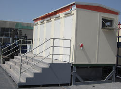 Party toilet facility in UAE from RTS CONSTRUCTION EQUIPMENT RENTAL
