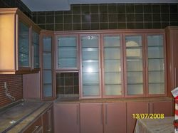Kitchen cabinets from colours aluminium glass llc for Aluminium kitchen cabinets in dubai