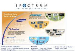 HOME AUTOMATION & SECURITY SYSTEM from SPECTRUM STAR GENERAL TRADING L.L.C