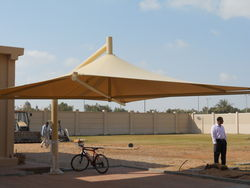Umbrella Car Parking Sunshade  from AL RAWAYS TENTS & CAR PARKING SUNSHADES
