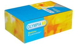 SAFETY GOGGLE OLYMPIA BOX  from SAFELAND TRADING L.L.C