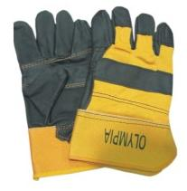 LEATHER GLOVES / WORKING GLOVES BRAND OLYMPIA  from SAFELAND TRADING L.L.C