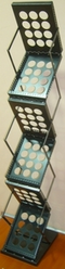 Zig Zag Metal Brochure Stand from SIS TECH GENERAL TRADING LLC