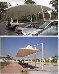 UMBRELLA TYPE CARPARKING from AL RAWAYS TENTS & TARPAULIN SHOP