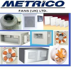 METRICO Ventilation Fans from RAPID COOL TRADING CO. LLC