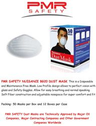 PMR SAFETY BG20 Paper Dust Masks from URUGUAY GROUP OF COMPANIES