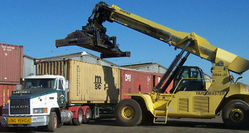 CONTAINER TRANSPORT AND MOVEMENTS  from ARABIAN EQUIPMENT & MACHINERY RENTALS LLC