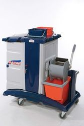 VDM Janitorial Trolley from AL MAS CLEANING MAT. TR. L.L.C