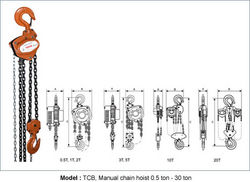 MANUAL CHAIN HOIST from GULF SAFETY EQUIPS TRADING LLC