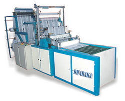 Bottom Sealing and Cutting Machine from DWARAKA PLASTICS COMPANY LLC.