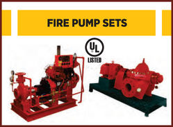 UL Listed Fire Pump Set from SFFECO GLOBAL FZE