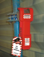 Butterfly Valve Lockout from GULF SAFETY EQUIPS TRADING LLC